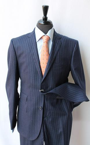 Stylish Slim Fit Flannel Fabric Suit