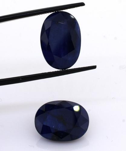 Exquisite Set of 2 Blue Sapphires, 17.66ctw