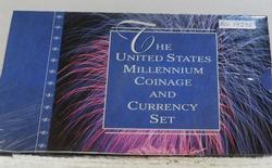 2000 Silver Millennium Coin & Chronicles Set, limited