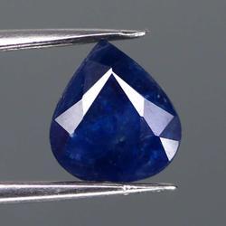 Beautiful 1.35ct midnight blue natural Sapphire