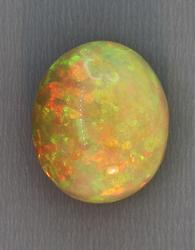 Exhibition grade AAA 24.83ct semi-black Welo Opal
