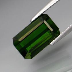 Glistening 4.47ct deep green natural Tourmaline