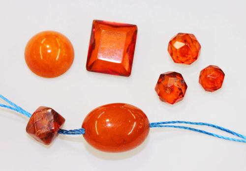 Natural Amber - Lot of 7