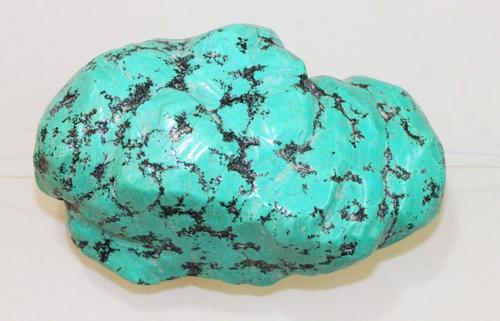 Huge Natural Turquoise with Matrix Bead - 4.5 oz.