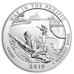 2019 Silver 5oz War in the Pacific National Hist. Park