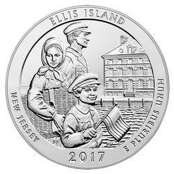 2017 Silver 5oz Ellis Island