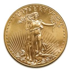 2016 American Gold Eagle 1/10 oz Uncirculated