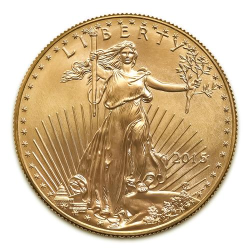2015 American Gold Eagle 1/10 oz Uncirculated