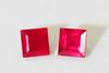 Spunky Natural Ruby Pair - 1.83 cts.