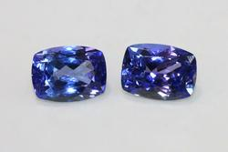 Royal Purple Tanzanite Pair - 3.16 cts.