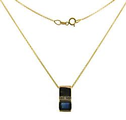 Fantastic Sapphire and Diamond Necklace