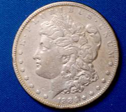 Better Date 1884-S Morgan Dollar, Circ
