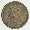 1874 Seated Liberty Silver Half Dollar - Circulated
