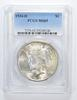 MS65 1934-D Peace Silver Dollar - Graded PCGS