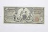 1896 $2 Educational Silver Certificate Note - Horse Blanket