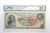 VF25 1886 $2 Silver Certificate Note - FR#242 - Graded PMG