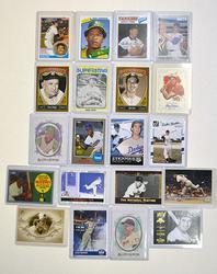 20 Baseball Hall Of Fame Members!