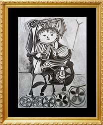 VINTAGE PICASSO FROM 'PICASSO'S CHILDREN'