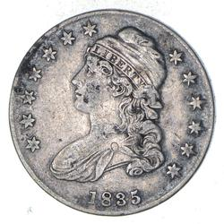 1835 Capped Bust Half Dollar - Circulated