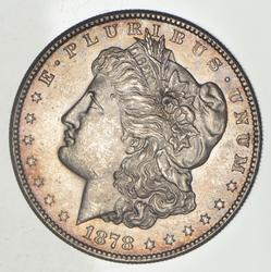 1878-S Morgan Silver Dollar - Toned