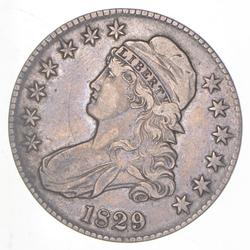 1829 Capped Bust Half Dollar