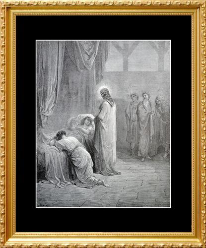 ANTIQUE DORE GRAVURE CIRCA 1880