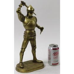 Knight Warrior Cold Cast Bronze Sculpture