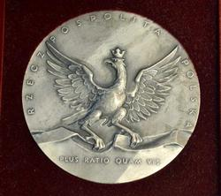 Polish UOP, Office of State Protection, Sterling Medal