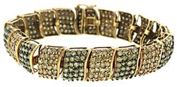 20 cctw! Chocolate Multi Diamond Bracelet