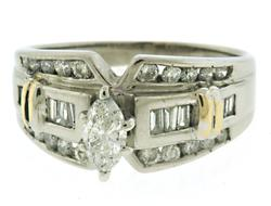 Gorgeous Marquise Diamond Wedding Ring