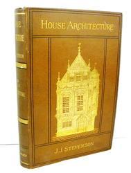 1880 House Architecture Antique Book