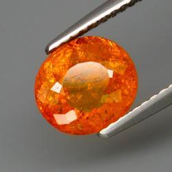 Amazing top fanta orange 2.24ct Namibian Garnet