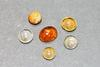 Firery Natural Mexican Opals - Lot of 6