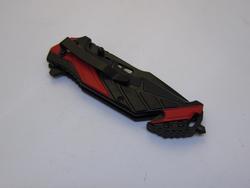Red Snake Eye Tactical Spring Assist Knife