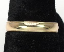 14KT Yellow Gold Band Size 7 1/4