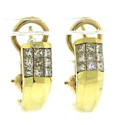 Gorgeous Invisible Set Diamond Earrings