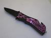 Pink Snake Eye Tactical Spring Assist Knife