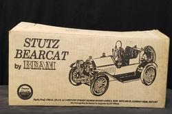 RARE Vintage Beam Stutz Bearcat Decanter