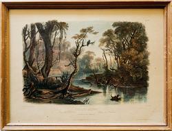 After Karl Bodmer (1809-1893) Vintage Color Engraving