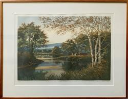 Kathleen Cantin Signed Limited Edition Lithograph