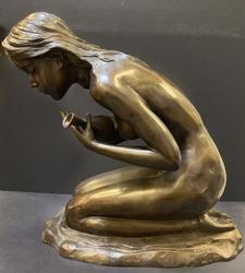 Beautiful Garden Fountain Bronze Sculpture