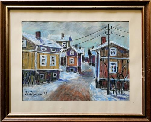 Signed and Dated Original Pastel Painting