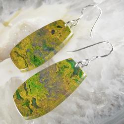 Simply stunning 46mm pair of African Jade