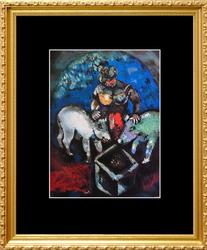 Marc Chagall, Woman With Pigs