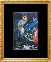 Marc Chagall, The Flying Sleigh