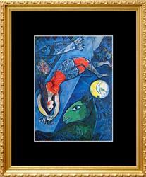 Marc Chagall, Blue Circus