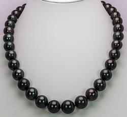 Tahitian Pearl Necklace, 14KT