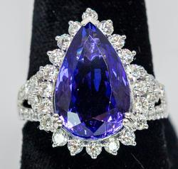 GIA Tanzanite Mined in D Section