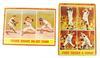 2 Topps 1962 Baseball Cards, Whitey Ford & Spahn