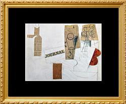 Pablo Picasso, Bottle, Glass, Violin